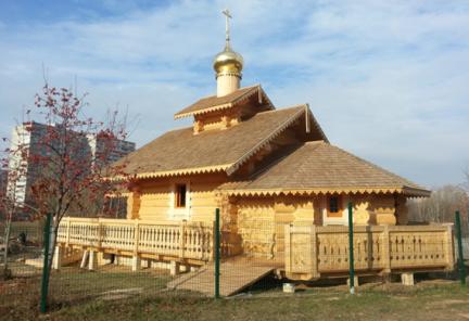 Храм ик. Божией Матери «Неопалимая Купина» Патриаршее подворье в Очаково-Матвеевском