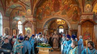 Архиерейское богослужение в день памяти Рудненской иконы Божией Матери (видео)
