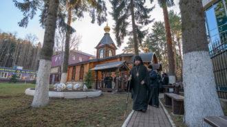 Престольный праздник в храме великомученика Георгия Победоносца при МЧС