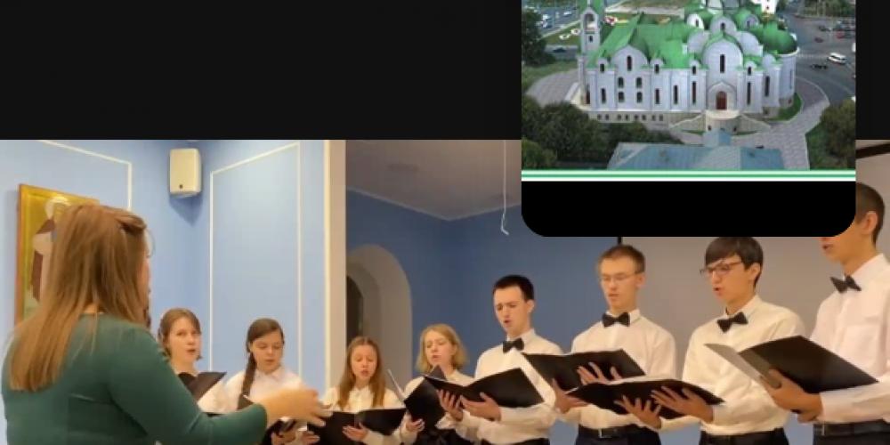 Храм прп.Андрея Рублева концертом поздравил жителей района Раменки с Днем пожилого человека