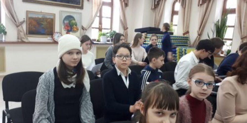Старший детский хор храма Александра Невского принял участие в сводной репетиции детских хоров воскресных школ храмов Михайловского благочиния