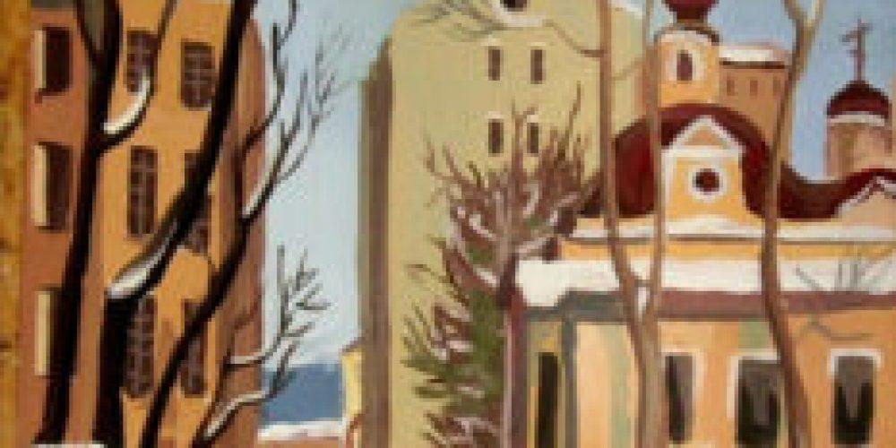 Ученики школы № 97 сделали выставку рисунков в храме Смоленской иконы Божией Матери в Фили-Давыдково