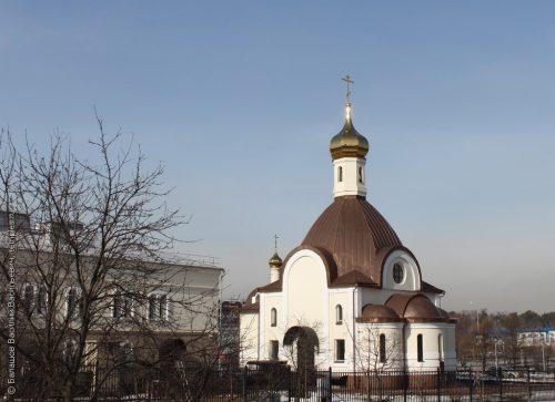 Престольный праздник отметили в храме священномученика Ермогена в Крылатском (+ фото, + видео)