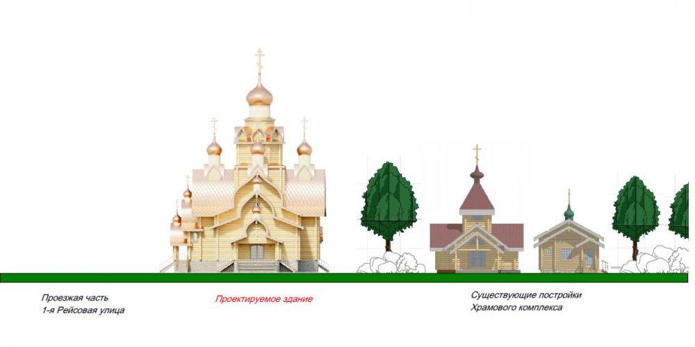 Во Внуково приступают к строительству храма в честь мучениц Веры, Надежды, Любови и матери их Софии