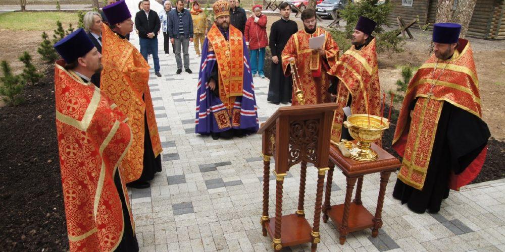 Владыка Фома освятил часовню в честь иконы Божией Матери «Нечаянная радость»