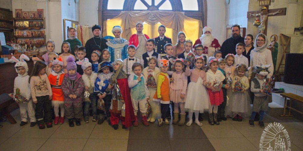 Рождественский детский праздник в Орлово