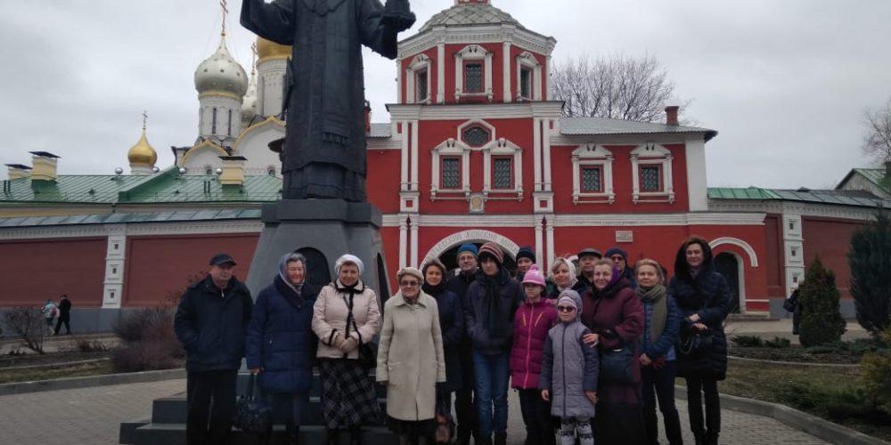 Слушатели приходского лектория храма прав. Иоанна Русского в Кунцеве совершили паломническую поездку
