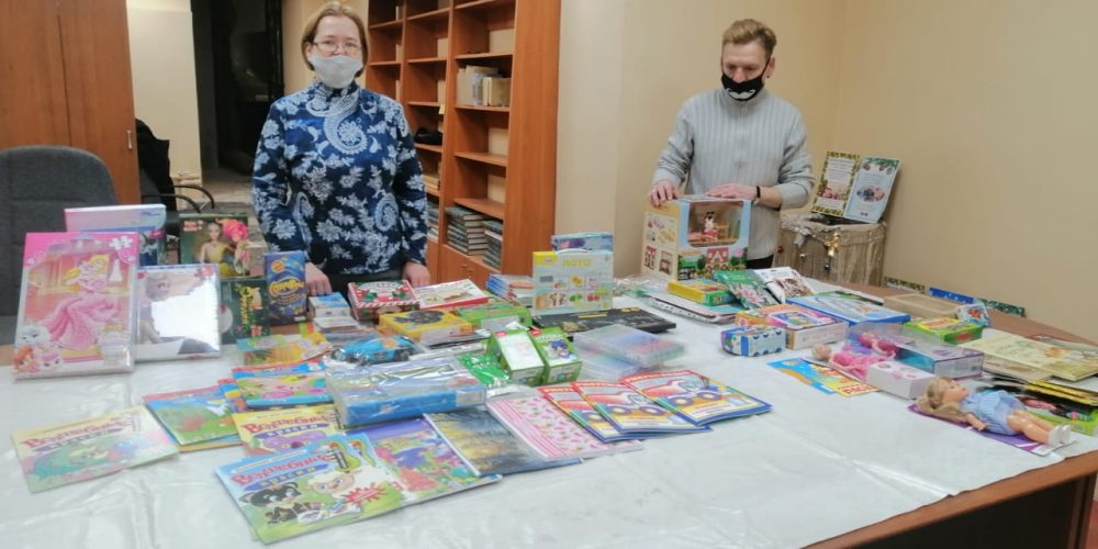 Социальная служба «Милосердие» храма Знамения в Кунцеве продолжает отправку гуманитарной помощи в регионы
