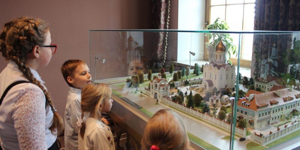Состоялась поездка ребят из Успенского храма в Матвеевском в поселок Усово Одинцовского района