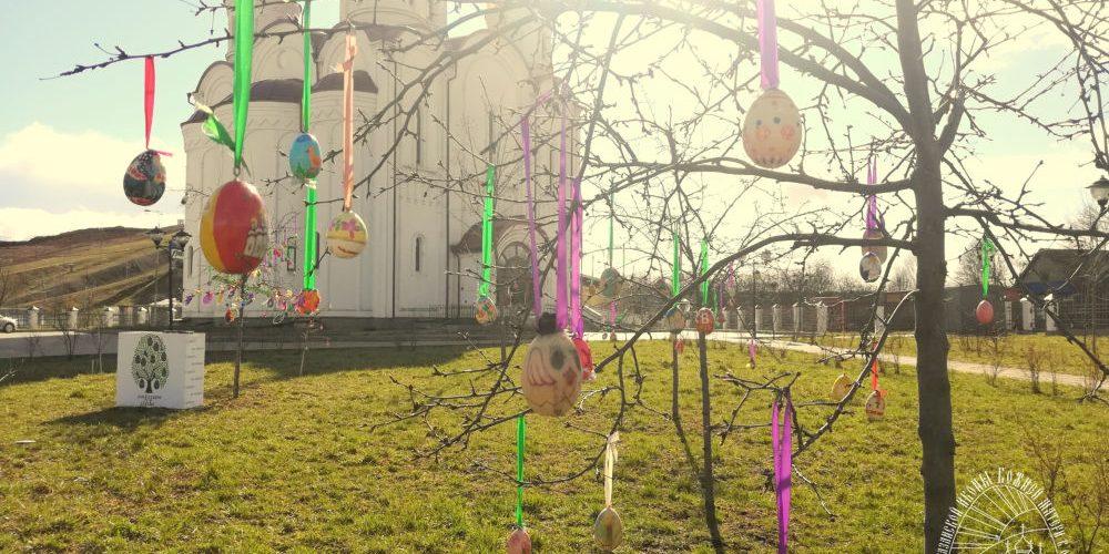 """""""Пасхальное Чудо-дерево"""" расцвело в храме Казанской иконы Божией Матери в Орлово"""