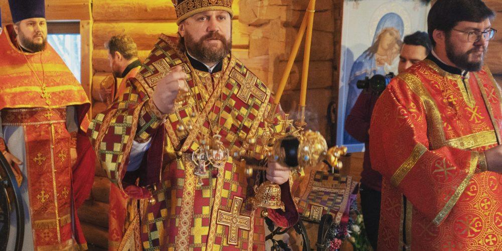 Пасхальное поздравление управляющего Западным викариатством епископа Павлово-Посадского Фомы