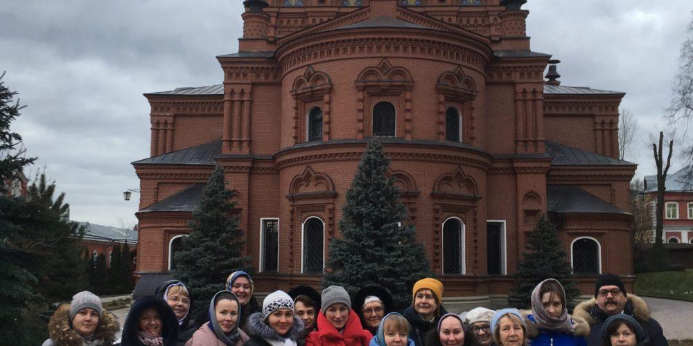 Прихожане храмов Западного и Северо-Западного викариатств совершили паломничество в Хотьково