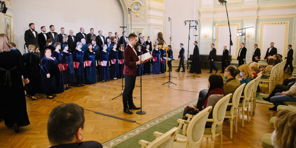 Праздничный хор храма прп. Сергия Радонежского в Солнцеве принял участие в концерте IV Великопостного хорового фестиваля