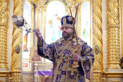 Епископ Одинцовский и Красногорский Фома совершил первую Литургию в Одинцово