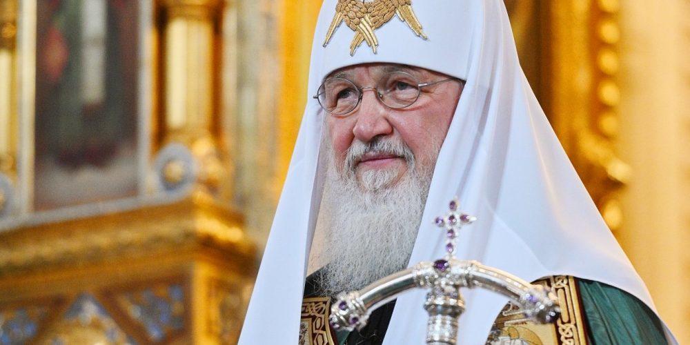 """Святейший Патриархи Кирилл: """"Возложим на себя подвиг не выходить из наших домов, как взяла на себя подвиг Мария Египетская — не выходить из пустыни"""""""