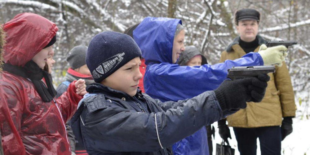 Православный подростковый клуб «Парус» храма прав. Иоанна Русского в Кунцево принял участие в «Лесных маневрах 2012»