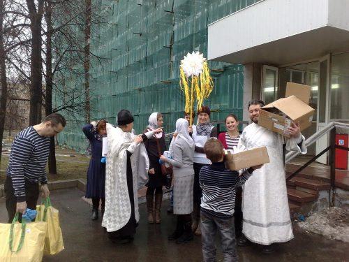 Рождественское поздравление пациентов и персонала детской больницы №9