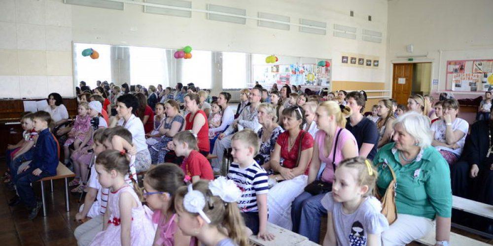 Детский Пасхальный праздник в Воскресной школе храма прав. Иоанна Русского