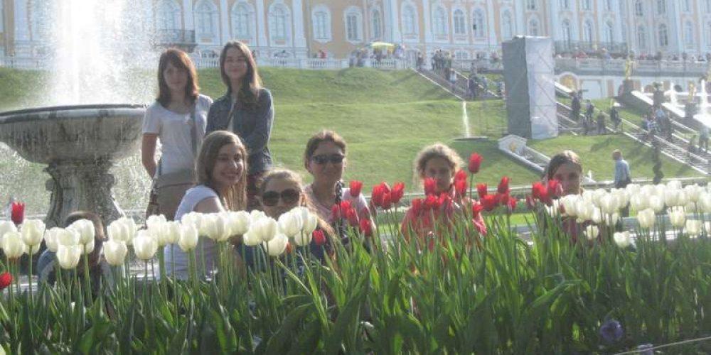 Поездка в Санкт-Петербург и его окрестности