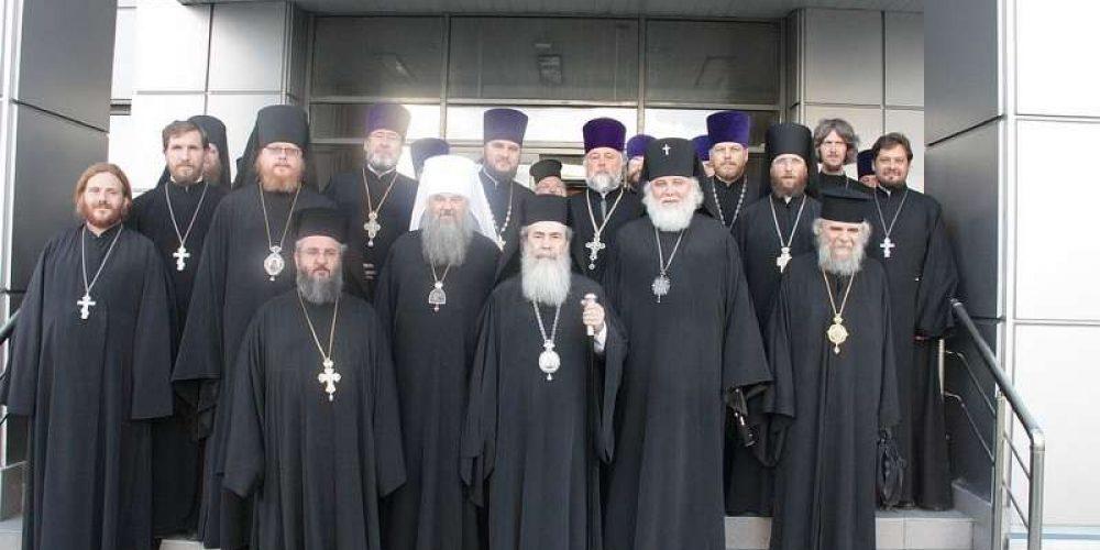 Встреча Патриарха Иерусалимского Феофила III