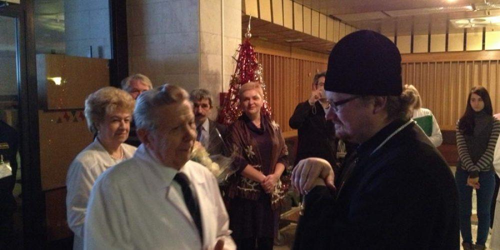 Преосвященнейший владыка Игнатий, епископ Бронницкий Управляющий Западным Викариатством, посетил   Российский кардиологический научно-производственный комплекс (РК НПК) Министерства здравоохранения