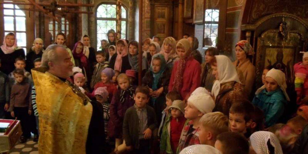 14 сентября в Воскресной школе при храме Архистратига Михаила (Патриаршее подворье) в Тропареве прозвенел первый звонок