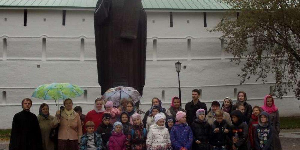 Поездка в Троице Сергиеву Лавру