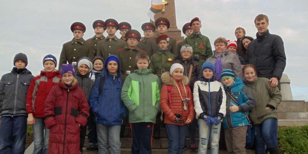 Поездка учащихся ГБОУ СОШ №» 14 и 37 на Бородинское поле