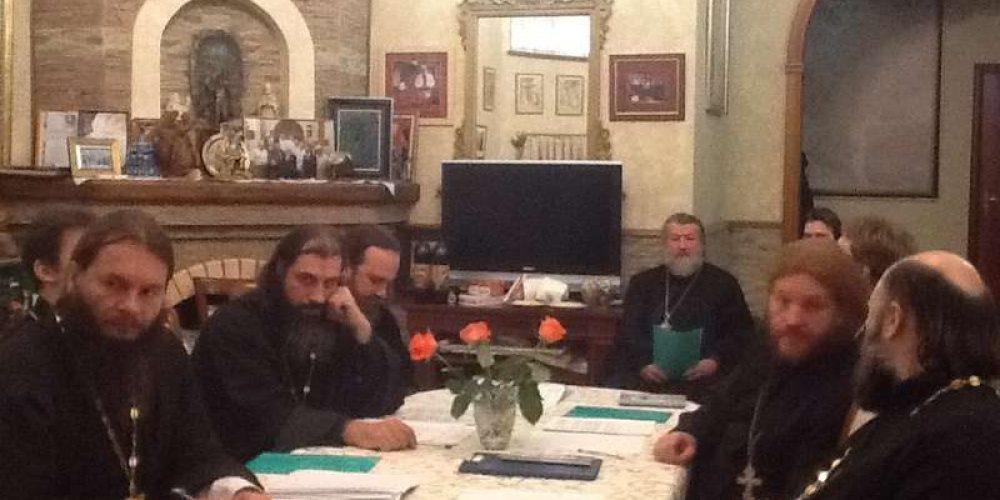 Дискуссия духовенства в Западном Викариатстве