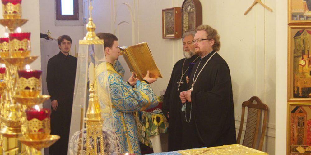 Владыка Игнатий совершил Всенощное бдение в храме Казанской иконы Божией Матери в Орлово