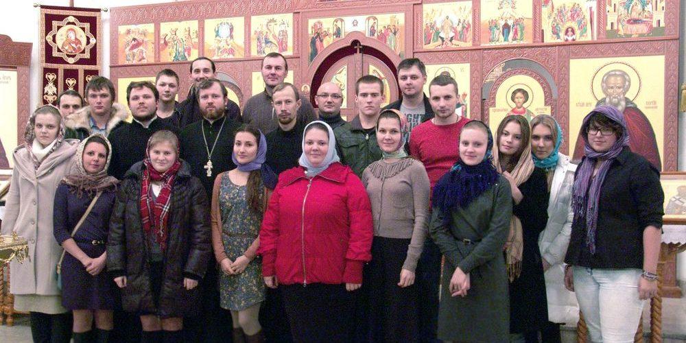 2 ноября 2013 года состоялась встреча молодежи храма Благовещения Пресвятой Богородицы в Федосьино с молодыми людьми храма прп. Сергия Радонежского в Солнцево