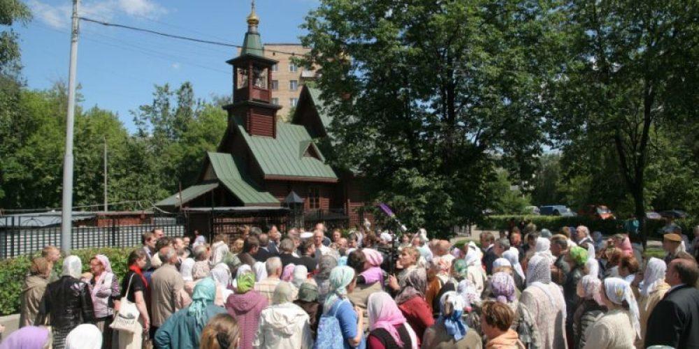 Началось строительство храмового комплекса прав. Иоанна Русского в Кунцево