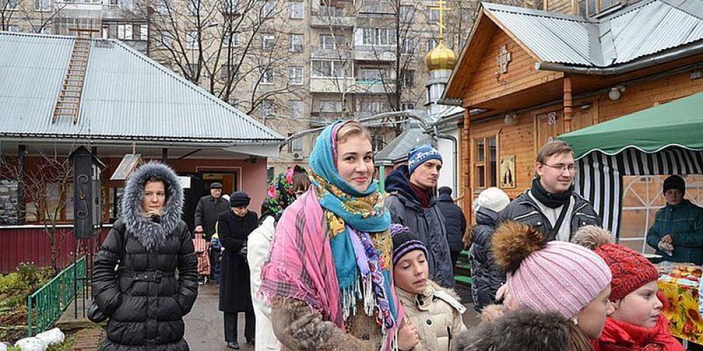 В храме прп. Серафима Саровского в Кунцеве состоялась осенняяя  благотворительная ярмарка