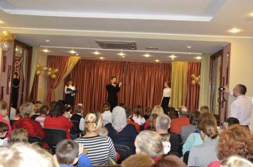 Осенний концерт воскресной школы храма прав. Иоанна Русского