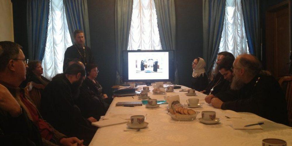 28-го ноября  состоялось заседание Комиссии по социальному служению и благотворительности при Епархиальном совете г. Москвы в конференц-зале синодального отдела. На заседание поднимались вопросы: