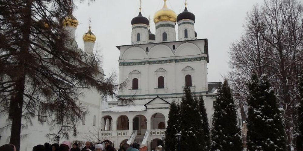 Посещение Иосифо-Волоколамского монастыря