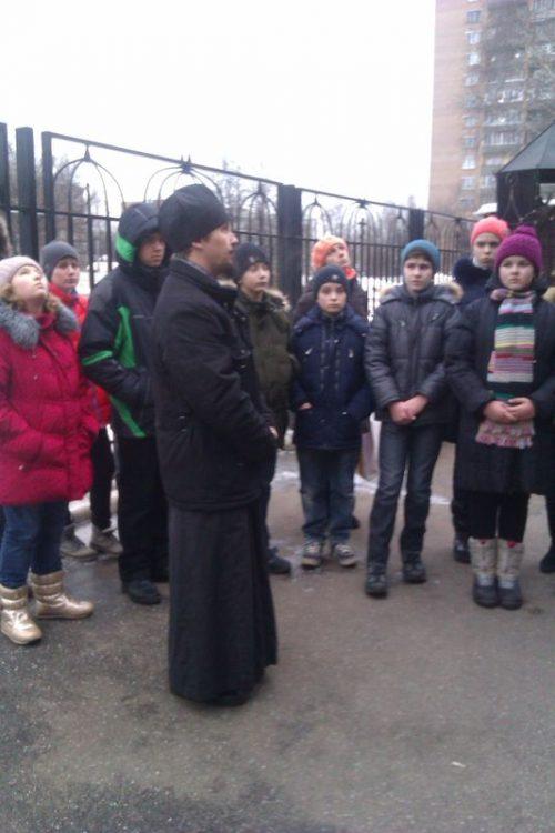 ОПК для школьников в храме прав. Иоанна Русского