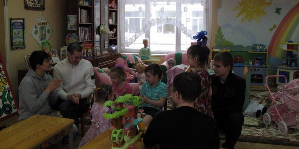 В гостях у детского дома №11