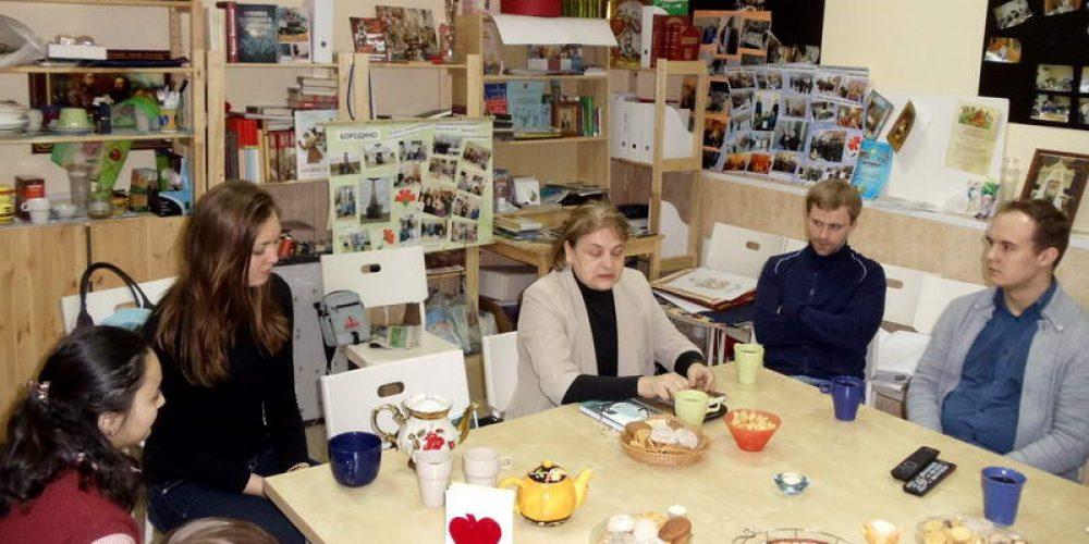 Встреча с членом союза литераторов – Татьяной Владимировной Шапошиной
