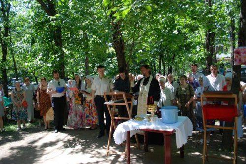 Престольный праздник храма преп. Евфросинии Полоцкой