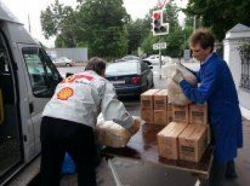 Помощь голодающим Донецка и Луганска