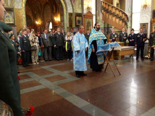 Молебен для сотрудников Федеральной службы Российской Федерации по контролю за оборотом наркотиков