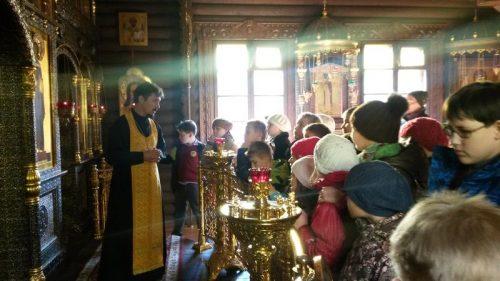 Экскурсия учеников школы №64 в храм прав. Иоанна Русского в Кунцево