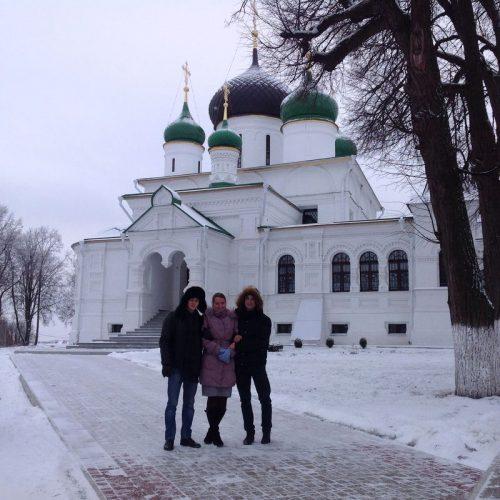 В Федоровском монастыре