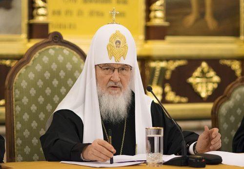 Святейший Патриарх Кирилл возглавил работу Епархиального совета г. Москвы