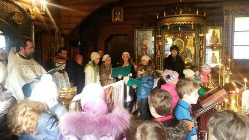 «Детский» молебен в храма прав. Иоанна Русского в Кунцево