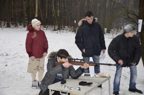 Православный подростковый клуб «Парус» принял участие в межприходских зимних играх.
