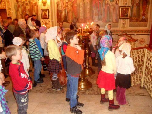 1-я Литургия Великого поста, организованная для воспитанников Воскресной школы