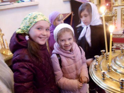 Литургия в монастырском скиту, организованная для воспитанников Воскресной школы