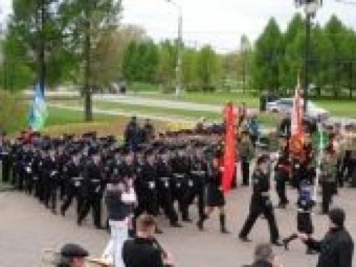 На Поклонной горе в столице состоялся Георгиевский парад «Дети победителей»
